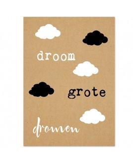 Postkaart Droom