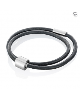 Barrel Armband zwart