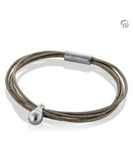 Charm Armband grijs