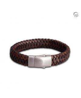 Embrace Brede armband bruin