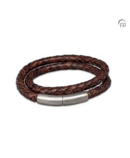 Embrace Dubbele armband bruin