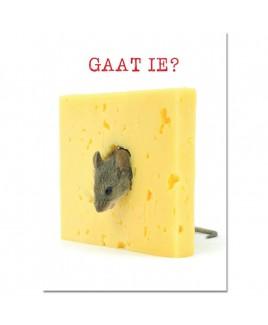 Postkaart Gaat ie?