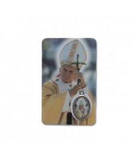 Gebedskaartje Johannes Paulus II