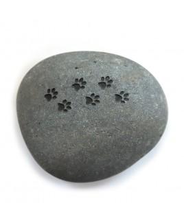 Gedenksteen hondenpootjes