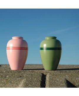 Gekleurde urnen 15 cm