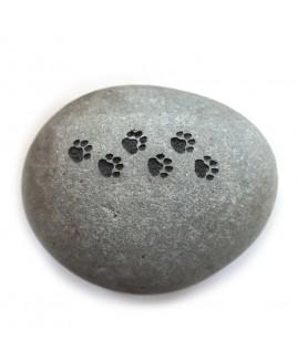 Gedenksteen kattenpootjes