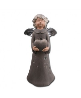 Hart engel, grijs