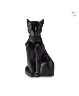 Dierenurn kat zittend