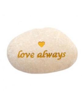Love always tekststeen