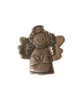 Vrolijke engel plaquette