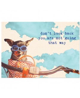 Postkaart don't look back