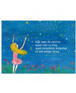 Postkaart sterren