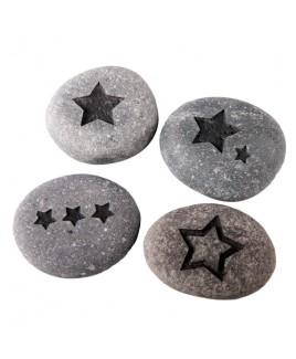 Sterren steen gravure
