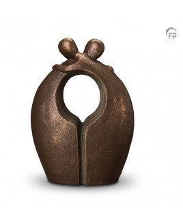 Afscheid brons urn