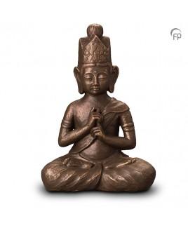 Boeddha Dai Nichi brons urn