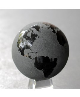 Wereldbol natuursteen