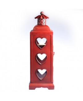 Lantaarn rode harten