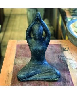 Yoga beeld Sukhasana