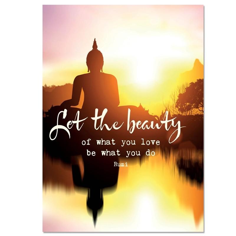 Postkaart Beauty